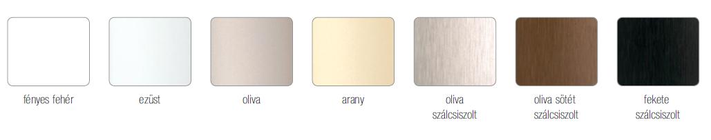 Profil fogantyú színek Sevroll